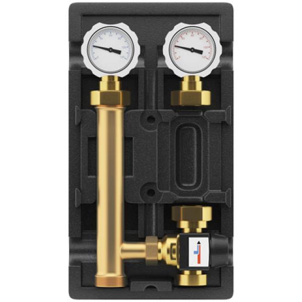 Группа быстрого монтажа Wester с термостатическим клапаном и насосом циркуляционным Grundfos UPSO 25-65