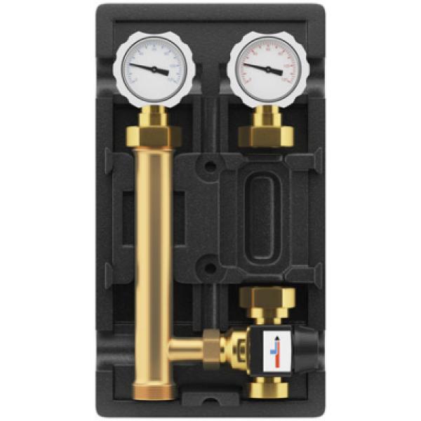 Группа быстрого монтажа Wester с термостатическим клапаном и насосом WCP 25-60