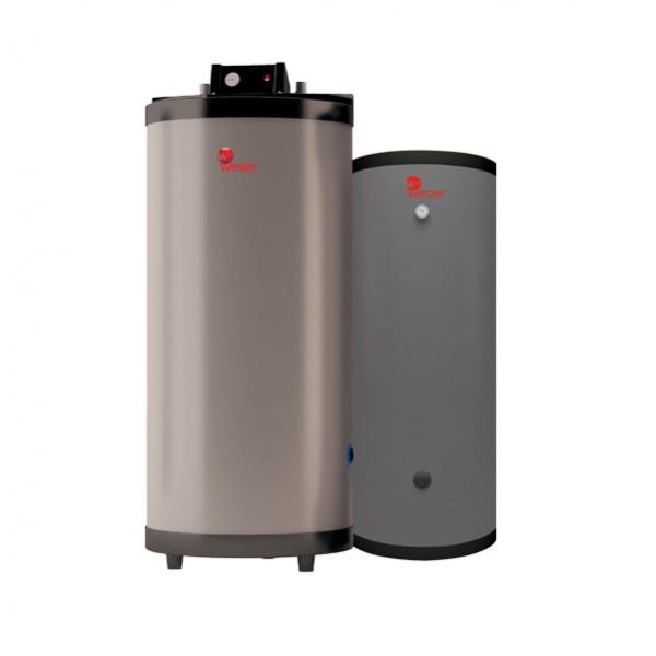 Водонагреватель «емкость в емкости» Wester WHU130 (ГВС 100) с рециркуляцией