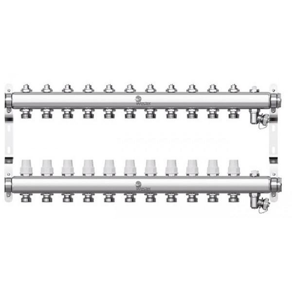 Коллектор нерж. Wester W903 1-3/4 в сборе на 11 выходов с 2 заглушками