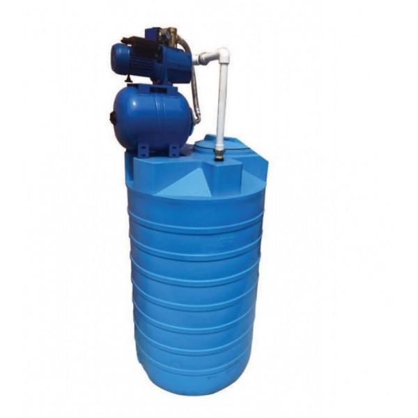 Бак для воды Акватек ATV-500 с автоматической насосной станцией AJC-60A