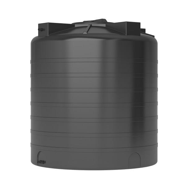 Бак для воды Акватек ATV-1500 (черный) с поплавком