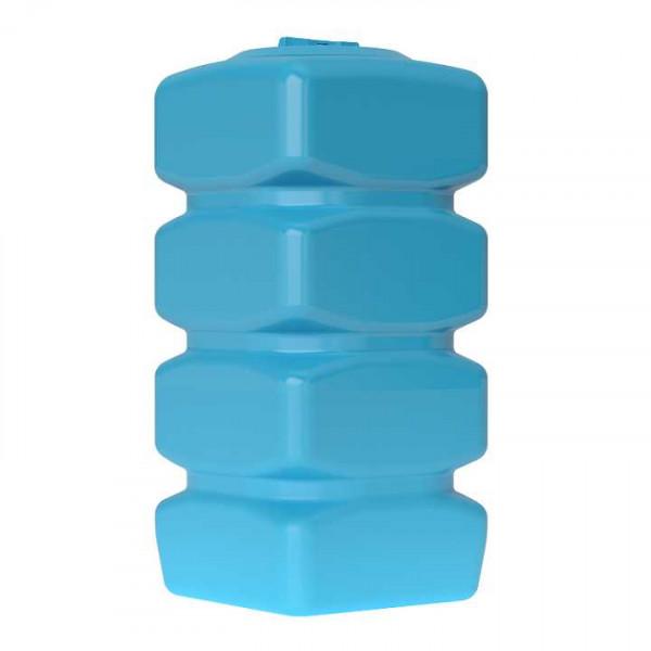 Бак для воды Акватек Quadro W-750 (синий) с поплавком