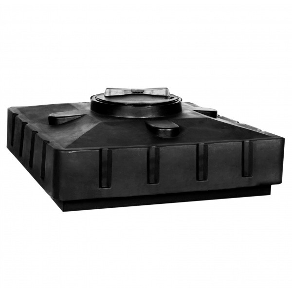 Бак для душа Акватек 240 (черный) (950х950х440) без выхода под ТЭН