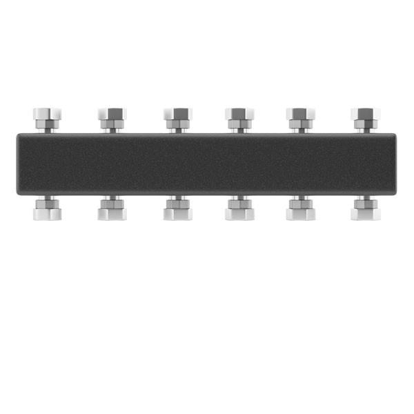 Коллектор распределительный Wester до 5 контуров с кронштейном