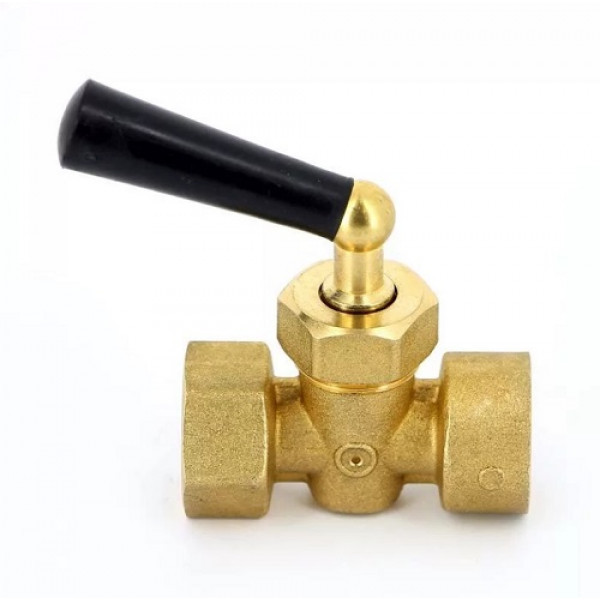 Кран запорный Watts для манометра 3-х ход.